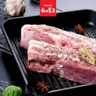 [핫딜] 하이포크 삼겹살 1kg  (업체별도 무료배송)