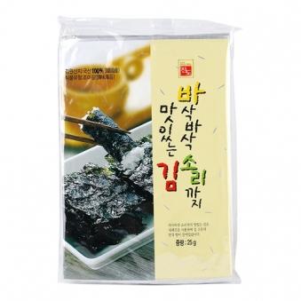 [면세점김] 바삭바삭 소리까지 맛있는김 25g*5봉입 (125g)