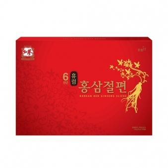[휴럼] 6년근 홍삼절편 12g x 10갑 (쇼핑백제공) (업체별도 무료배송)
