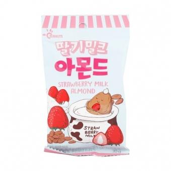 딸기밀크 아몬드 30g