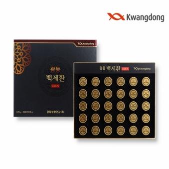 [광동] 백세환 3.75g x 30환(112.5g) + 쇼핑백증정 (업체별도 무료배송)