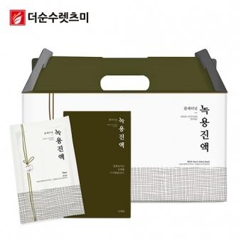 플래티넘 녹용진액 70ml*30포 X 1박스(선물형) (업체별도 무료배송)