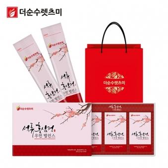 우먼밸런스 석류홍삼정 스틱 10g*30포 X 1박스 + 쇼핑백 증정 (업체별도 무료배송)