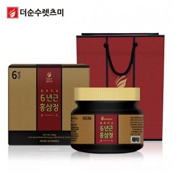 플래티넘 6년근 홍삼정 골드 300g X 1박스 + 쇼핑백 증정 (업체별도 무료배송)