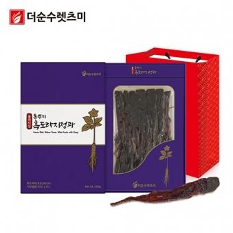 플래티넘 통뿌리 흑도라지정과 300g X 1박스 (업체별도 무료배송)