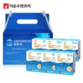 슈퍼 프로바이오틱스 플래티넘 유산균 스틱 2g*30포 X 6박스(6개월분) (업체별도 무료배송)