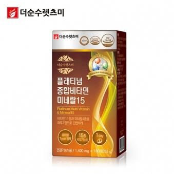 플래티넘 종합비타민 미네랄 영양제 1,400mg*180정 X 1박스(6개월분) (업체별도 무료배송)