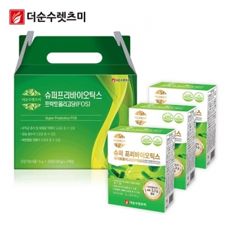 슈퍼 프리바이오틱스 FOS 5g*30포 X 3박스(3개월분) (업체별도 무료배송)