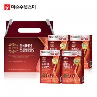 플래티넘 쏘팔메토 500mg*30캡슐 X 4박스(4개월분) (업체별도 무료배송)