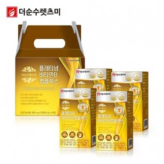 플래티넘 비타민B 컴플렉스 800mg*30정 X 4박스(4개월분) (업체별도 무료배송)