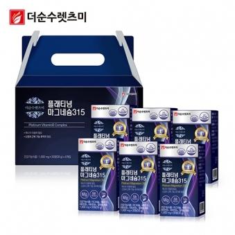 플래티넘 마그네슘 영양제 1,000mg*30정 X 6박스(6개월분) (업체별도 무료배송)