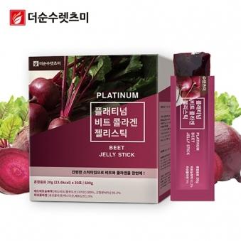 플래티넘 비트 콜라겐 젤리 스틱 20g*30포 X 1박스 (업체별도 무료배송)