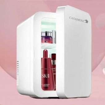 [까사맘] 화장품 냉 온장 다목적 냉장고 10L CAA-602 (업체별도 무료배송)