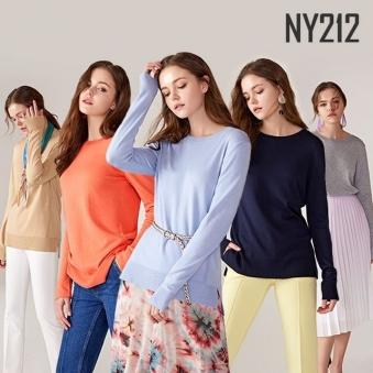 [홈쇼핑상품] [NY212] 여성 스프링 니트 컬렉션 5종 택1 (업체별도 무료배송)