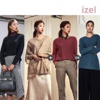 [홈쇼핑상품] [IZEL] 아이젤 캐시블랜딩 판초니트 3종세트 (업체별도 무료배송)