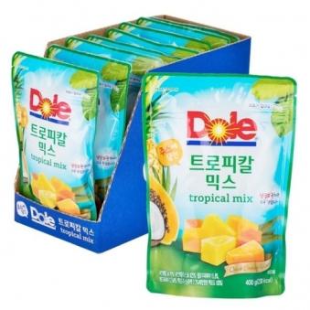 [코스*코전용상품] [DOLE] 트로피칼 믹스 400g * 8개 X 2박스 (업체별도 무료배송)