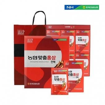 [주말특가] [농협] 맞춤 홍삼 70ml*30포 (쇼핑백 동봉) (업체별도 무료배송)