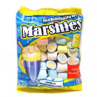 마켄버그 바닐라향 마쉬멜로 80g x 10봉 (업체별도 무료배송)