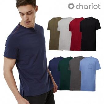 [홈쇼핑상품] [채리어트] 남성 데일리 에센셜 티셔츠 8종세트 (업체별도 무료배송)