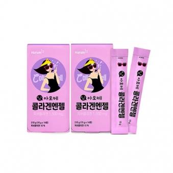 아모케 콜라겐엔젤 15g*14포입 x 2박스 (피쉬콜라겐함유)  (업체별도 무료배송)