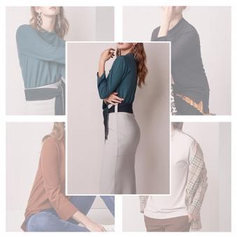 [홈쇼핑상품] [조이너스] 하프넥 티셔츠 5종 택1 (업체별도 무료배송)