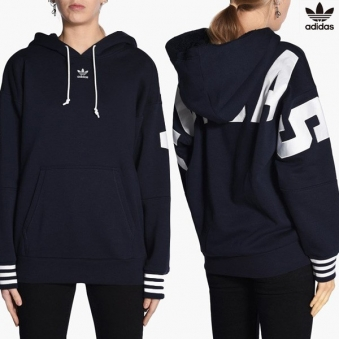[Adidas Originals] 아디다스 오리지널 로고 기모 후드 티셔츠 br5188 (업체별도 무료배송)