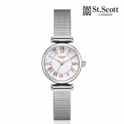 [St.Scott] 세인트스코트 ST7026SSS 에피라 워치 여성 메쉬시계 4종 택1 (업체별도 무료배송)