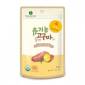네츄럴코어 유기농고구마가좋아 (치즈) 60g X 4개 (업체별도 무료배송)