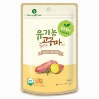네츄럴코어 유기농고구마가좋아 (클로렐라) 60g X 4개 (업체별도 무료배송)