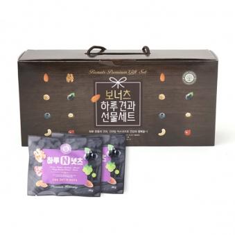 [보너츠] 하루N견과 선물세트 20g * 24봉 (업체별도 무료배송)