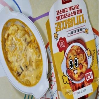 [밤사특가][편의점상품] 체다 치즈 포테이토 감자합니다. 200g x 5팩 (업체별도무료배송)