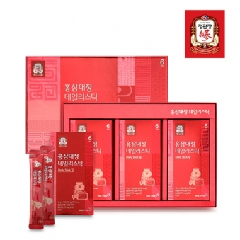 [정관장] 홍삼대정 데일리스틱 10g*30포 + 쇼핑백 포함 (업체별도 무료배송)