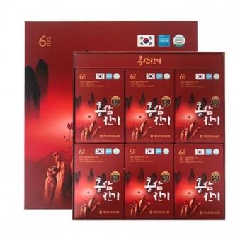 [개성상인] 홍삼진기 50ml*30포 + 쇼핑백 포함 (업체별도 무료배송)