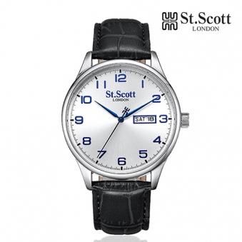 [St.Scott] 세인트스코트 ST7111L 남성 가죽시계 4종 택1 (업체별도 무료배송)