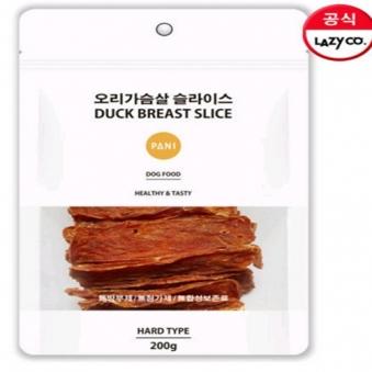 파니 오리가슴살 슬라이스 200g X 3개 (업체별도 무료배송)