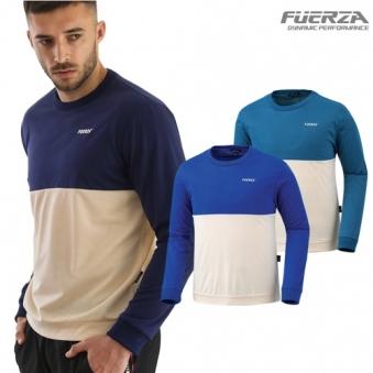 [기간한정특가] [훼르자] 루블투톤 맨투맨 티셔츠 (FRZ-9971) 3종 택1 (업체별도 무료배송)