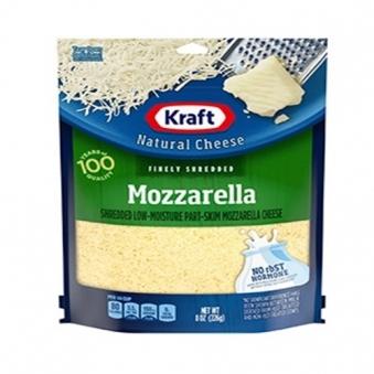[크래프트 하인즈] 치즈 96% 슈레드 모짜렐라 226g X 8봉 (약 1.8kg) (업체별도 무료배송)