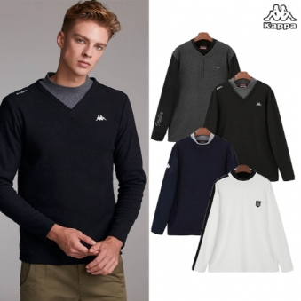 [기간한정특가] [KAPPA] 카파 남성 히트마스터 레이어드 셔츠 4종 SET (업체별도 무료배송)