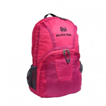 [BUCK703] 포켓더블 백팩 핑크 (업체별도 무료배송)